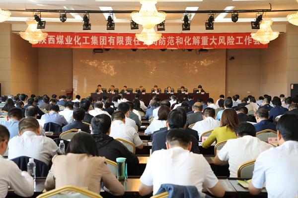 太阳城集团真人赌场集团召开防范化解重大风险工作会议